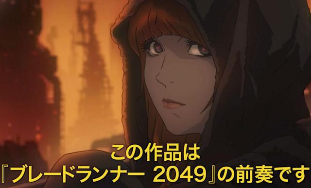 'Cowboy Bebop' director made a 'Blade Runner' animated short