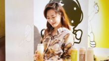 Stephy Tang opens milk tea pop-up store in Causeway Bay