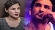 Sushant's girlfriend Rhea finally breaks silence on allegations of destroying hard disk