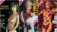 16 portadas icónicas de 'Interviú' que quedarán para la historia