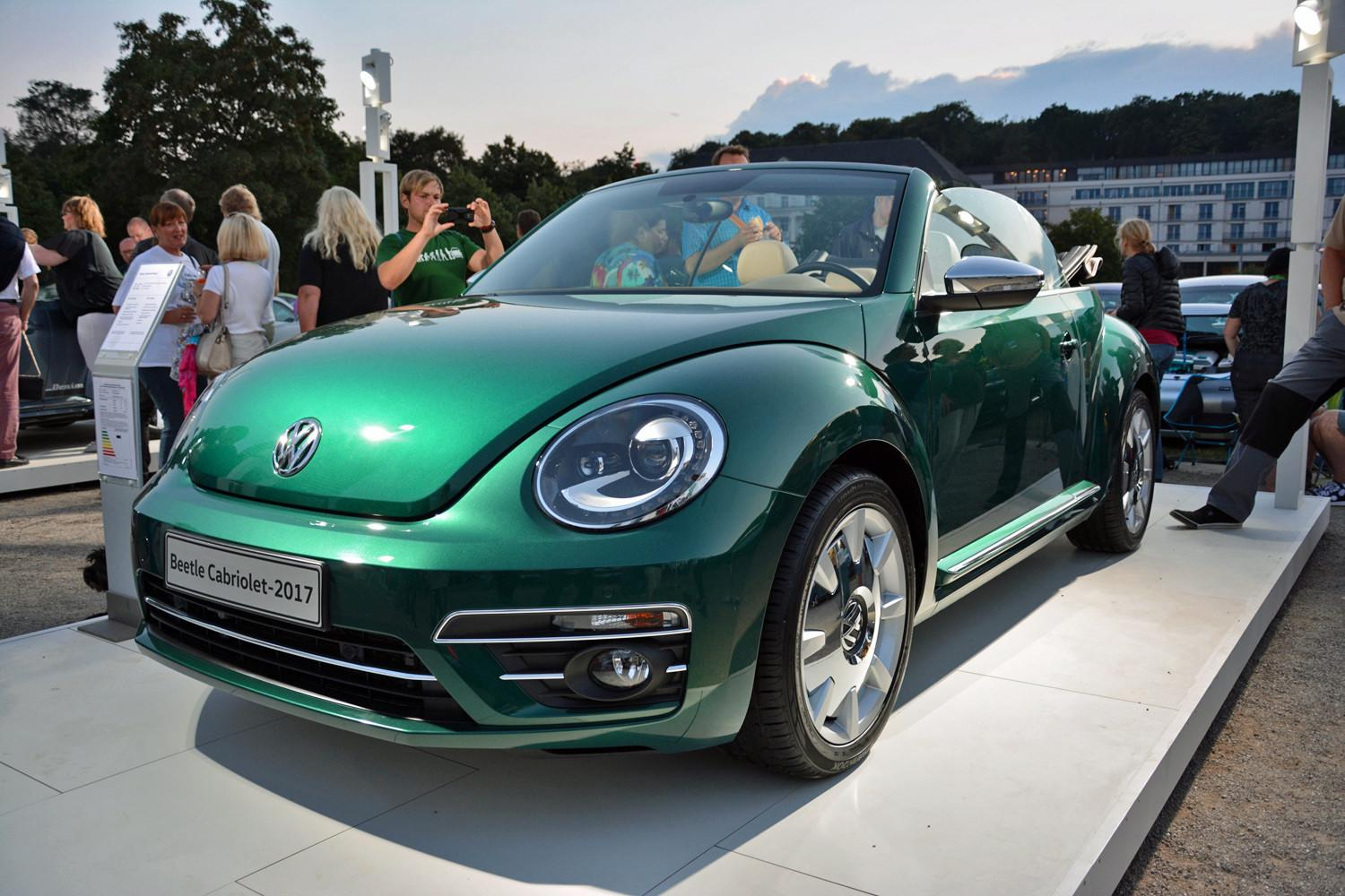 Volkswagen's retro Beetle ups its styling game for 2017