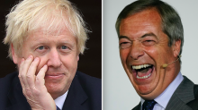 Boris Johnson rules out general election pact with Nigel Farage's Brexit Party