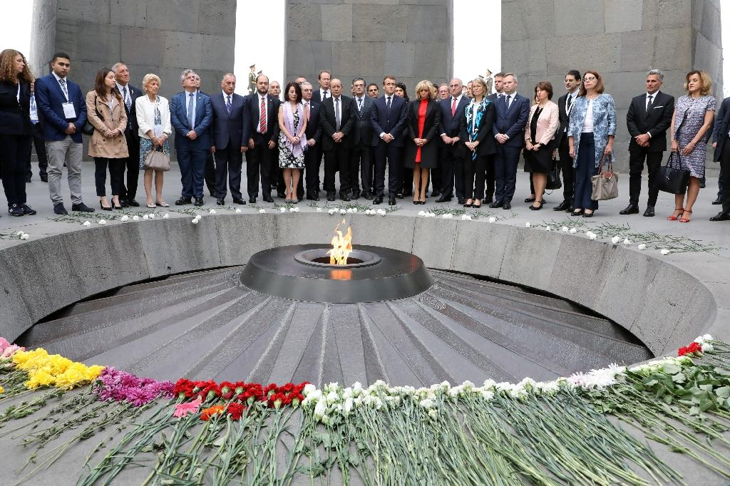 "France was one of the first major European nations to recognise the mass killings of Armenians during World War I as ""genocide"" (AFP Photo/ludovic MARIN)"