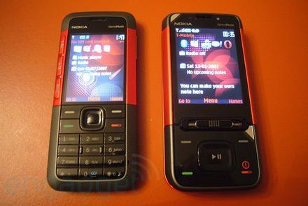 Nokia XpressMusic 5610 and 5310 hands-on