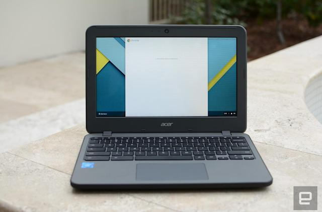 Acer built a more durable Chromebook for clumsy students