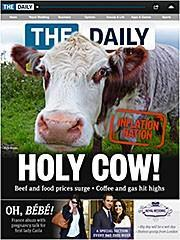 The Daily gets 800K downloads but loses $10 million this quarter