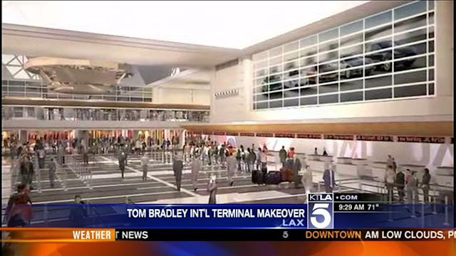 Preview of New Tom Bradley International Terminal at LAX