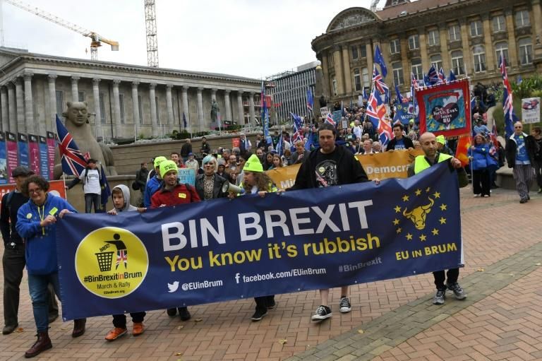 Campaigners hit the streets in bid to reverse Brexit