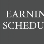 Earnings Scheduled For January 20, 2021