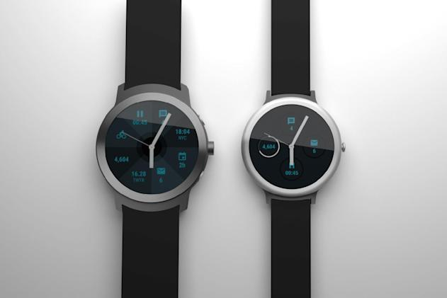 LG's Nexus-like Android Wear watches emerge in a leak