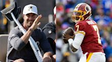 Alex Smith could make 'interesting' battle for QB practice reps with Dwayne Haskins