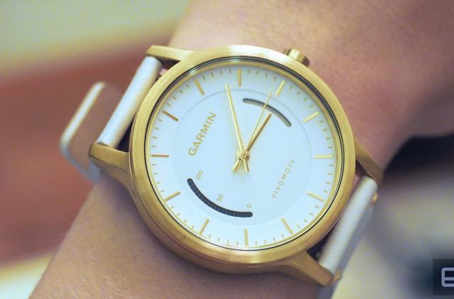 Garmin's Vivomove is a stylish fitness watch