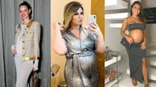 Inspire-se nos looks de 6 famosas grávidas