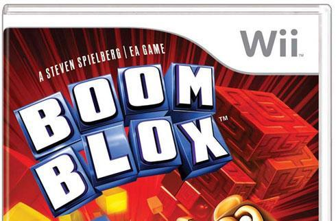 Spielberg's name outshines EA on Boom Blox box art