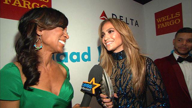 Jennifer Lopez Wins Big At 2014 GLAAD Awards