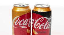 Coca-Cola gets a boost from Coke Zero Sugar, Coke Orange Vanilla and mini cans