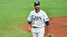 How an MLB relief pitcher found himself in the middle of the latest White House mask drama