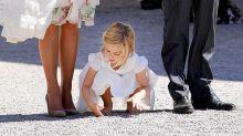 So mischt Prinzessin Leonore die Taufe ihrer Schwester auf