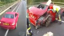 Horrific video that will put you off dangerous driving habit