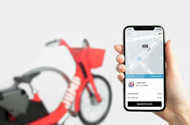 Uber's latest venture is a bike-sharing service in San Francisco