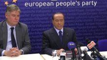 Berlusconi testa positivo para Covid-19