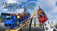 World's First Racing Launch Coaster, West Coast Racers, Debuting at Six Flags Magic Mountain in 2019