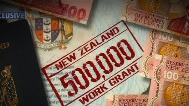 Jobless Kiwis 'paid to leave'