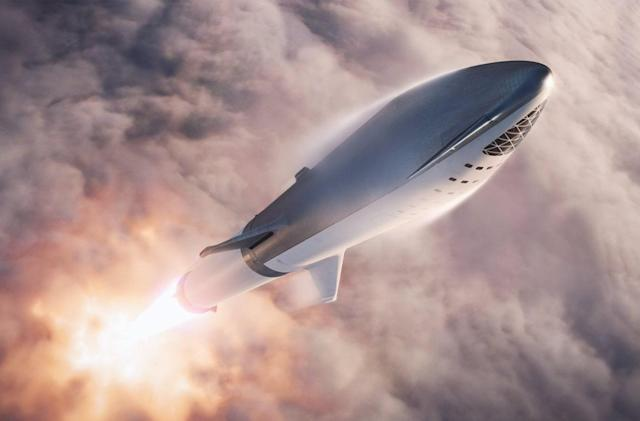 SpaceX plans shortcut to test a mini version of its Big Falcon Rocket