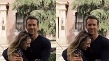 Pregnant Blake Lively & Ryan Reynolds's Boston PDA Is So Adorable