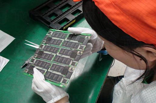 Video: watch an SSD get made at the Runcore factory