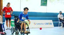 Game 3D de bocha 'energiza' atletas paralímpicos