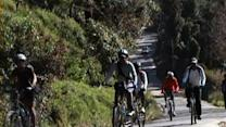 Cyclists take mountain ride to North Sikkim