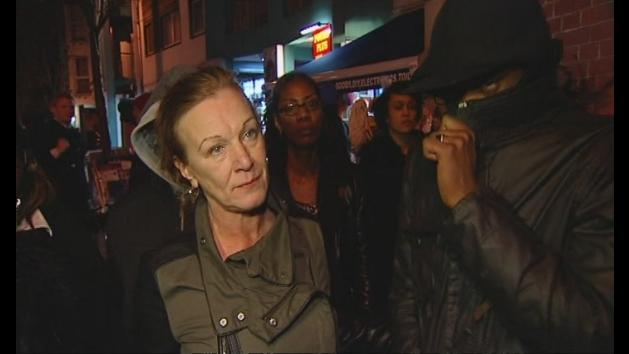 Mark Duggan's aunt wants peaceful fight for justice