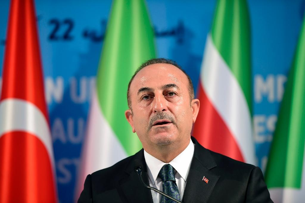 Turkish Foreign Minister Mevlut Cavusoglu says there is no turning back from buying a missile defense system from Russia