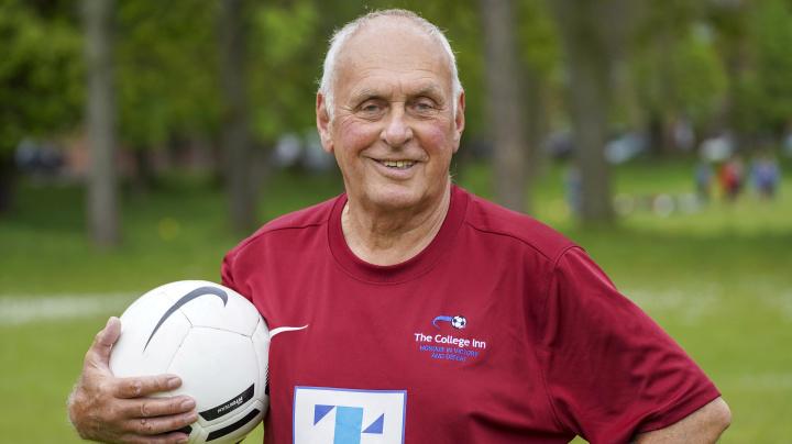Super-fit great grandad, 80, is UK's oldest Sunday league player