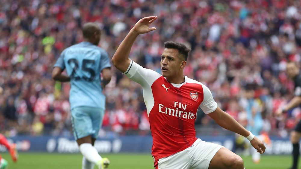 Alexis, amo y señor en Wembley