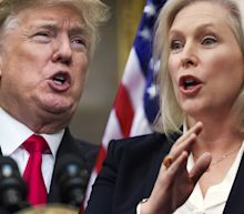 Trump says Sen. Gillibrand 'would do anything' for campaign cash after she calls for his resignation