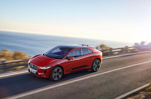 Jaguar's electric SUV can go almost 300 miles on a charge