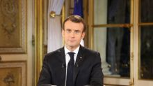 Macron to speed up tax cuts, raise wages at 'historic time' for France