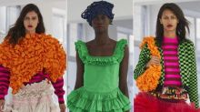 Molly Goddard brightens London fashion week with exuberant tulle