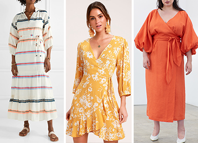 9e0be3d37ecf7a 32 Summer Dresses With Sleeves (That Won't Cause You to Overheat)