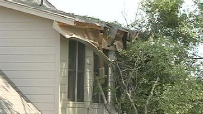 Storm Knocks Down Trees In Madison Co.