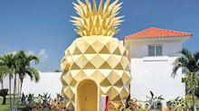 Ahora puedes dormir como Bob Esponja: así es el hotel piña de Punta Cana