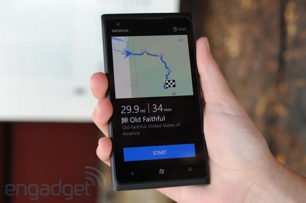 Nokia Drive offline navigation review: taking the Lumia 900 for an off-the-grid spin
