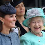 The Queen says she was 'inspired' by results of Kate Middleton's photographic lockdown exhibition