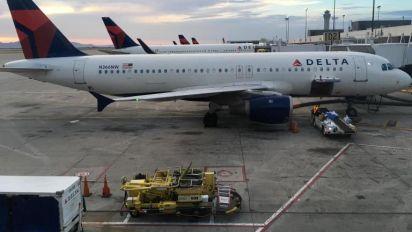 Delta flight suffers damaged fuselage after rough landing