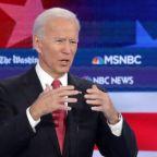 Joe Biden's Democratic debate word salad gives plenty to chew on