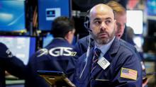 Wall Street eases on lower oil prices