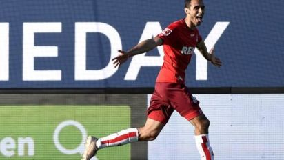 Foot - Barrages Bundesliga - Cologne sauve sa place en Bundesliga en battant Kiel lors du barrage retour