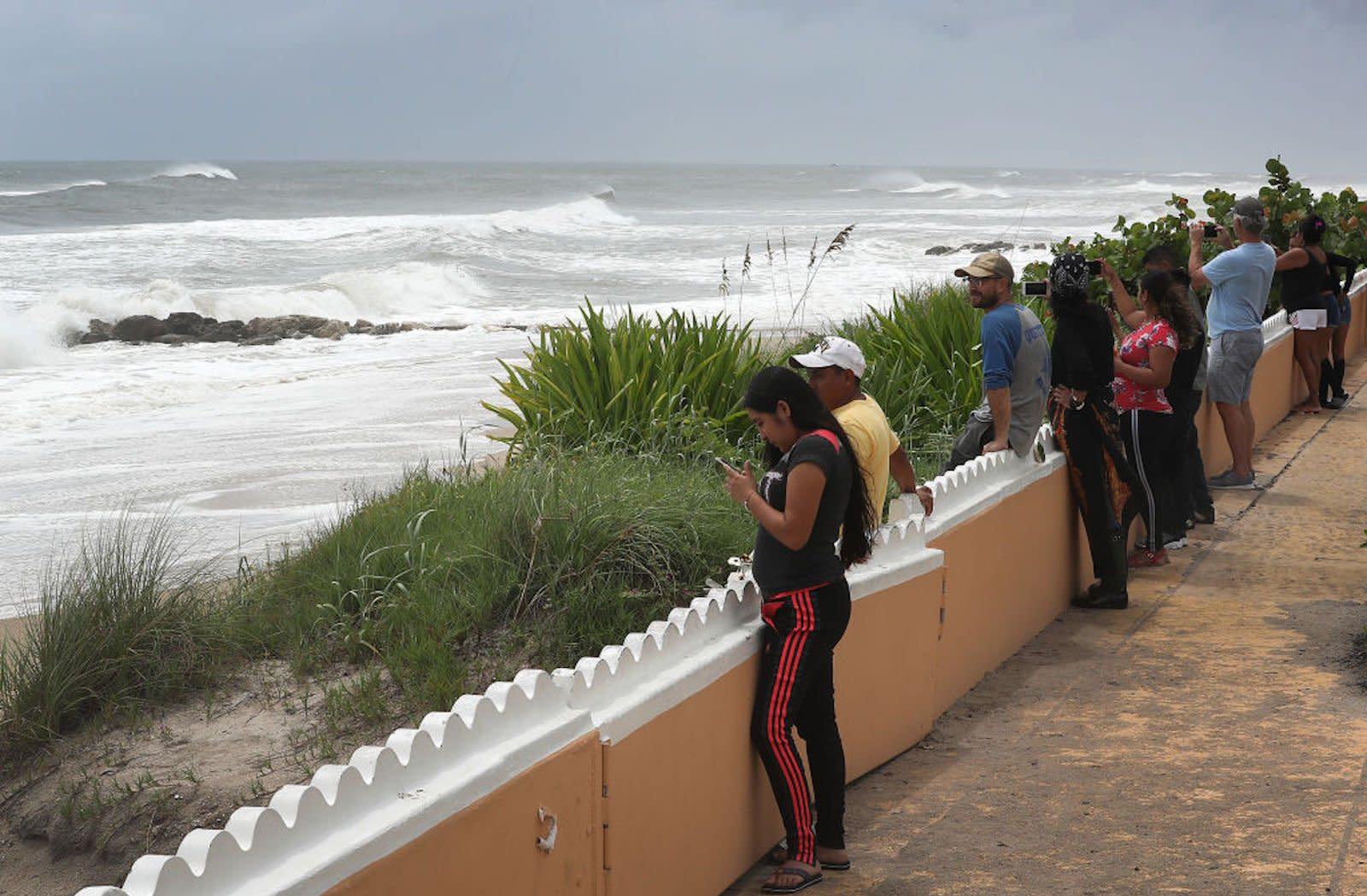 hurricane dorian batters bahamas as florida shuts down